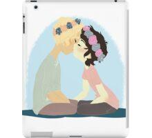 Pastel / Flower Crown Solangelo iPad Case/Skin