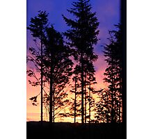 Miraculous day break Photographic Print