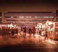 Birmingham German Market at Christmas by RossJukesPhoto