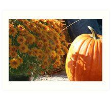 Season of Harvest 5 Art Print