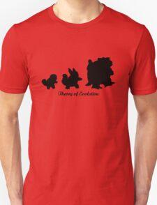 Darwin - Theory Evolution - Squirtle - pokemon T-Shirt
