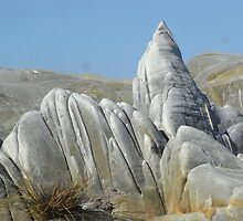 Rock formation along NW coast Tasmania 2011 by John Ivor Coombes
