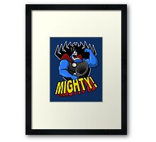 The Mighty Tick Framed Print