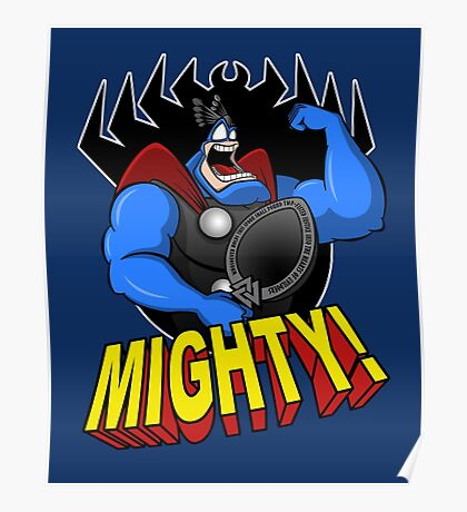 The Mighty Tick Poster