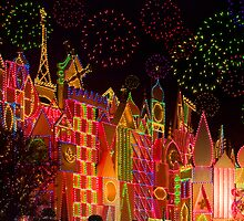 DISNEY WORLD ON CHRISTMAS by Elizabeth G. Fine Art