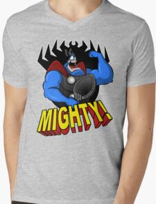 The Mighty Tick Mens V-Neck T-Shirt