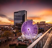 Birmingham Wheel at Christmas by RossJukesPhoto
