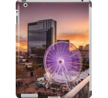 Birmingham Wheel at Christmas iPad Case/Skin