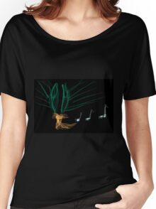 this is titled 'Love notes' Women's Relaxed Fit T-Shirt