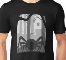 LIMBO - spider - LOST in dark Wood Unisex T-Shirt