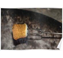 Toasting Marshmallows Poster
