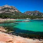 Honeymoon Bay, at Coles Bay, Tasmania Australia. by Kristi Robertson