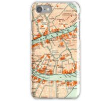 Venice Vintage Map iphone Case iPhone Case/Skin