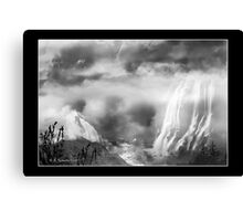 Land of Mists Canvas Print