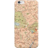 London Vintage Map iphone Case iPhone Case/Skin