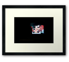 Screen #1 : play Framed Print