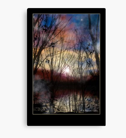 Fey Sunset Canvas Print
