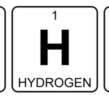 W H At - What - Periodic Table - Chemistry Sticker