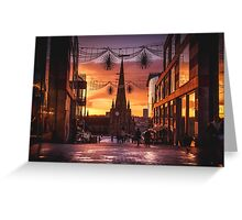 Christmas in Birmingham at the Bullring Greeting Card