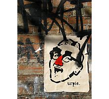 Melbourne - Red nose by Urpie Photographic Print