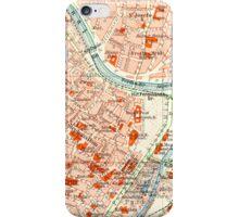 Vienna Vintage Map iPhone Case iPhone Case/Skin