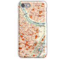 Vienna Vintage Map iPhone Case iPhone Case/Skin