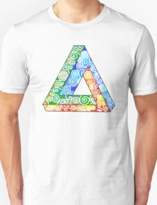 Penrose Triangle and the Primary Colours T-Shirt