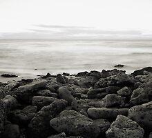 On The Rocks, Bells Beach by Julie Thomas