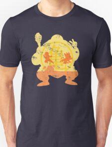 t shirt DBZ- Grunge- Training - Tortue génial  T-Shirt