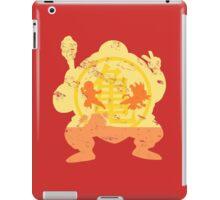 t shirt DBZ- Grunge- Training - Tortue génial  iPad Case/Skin