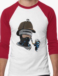 Robo Holmes (Full Color) Men's Baseball ¾ T-Shirt