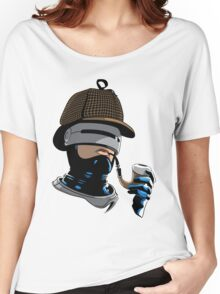 Robo Holmes (Full Color) Women's Relaxed Fit T-Shirt