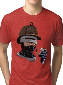 Robo Holmes (Full Color) Tri-blend T-Shirt