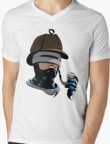Robo Holmes (Full Color) Mens V-Neck T-Shirt