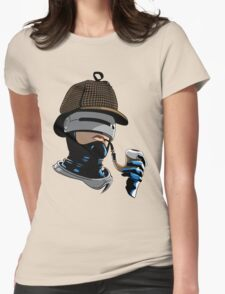 Robo Holmes (Full Color) Womens Fitted T-Shirt