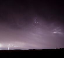 Mallee lightning by Matthew Reid