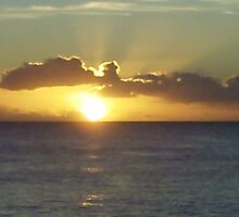 Waianae Coast Sunset by John Henry Martin