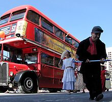London Bus by DPalmer