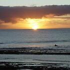 sunset  by John Henry Martin
