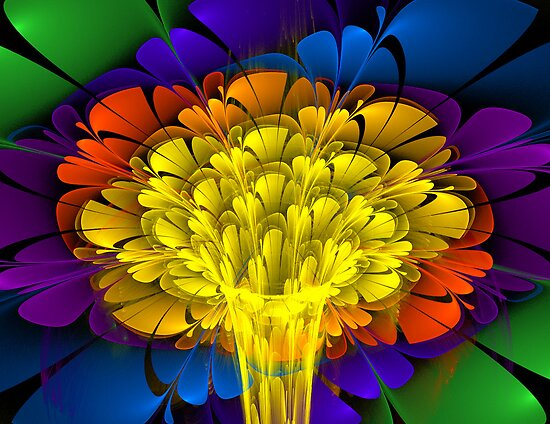 YellowPassion in Vase 2 by Lemarly