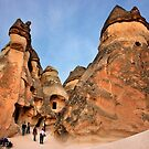Fairy chimneys in Pasabag - Cappadocia by Hercules Milas