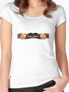 CatStashe Women's Fitted Scoop T-Shirt
