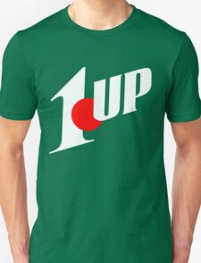 1up mixed up with 7up (mario NES) T-Shirt