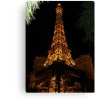 PARIS BY WAY OF VEGAS Canvas Print