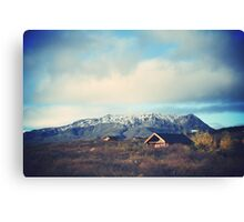 Impressive beauty of Iceland Canvas Print