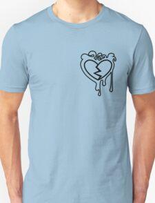 Broken Bleeding Heart ; variation 03 Unisex T-Shirt