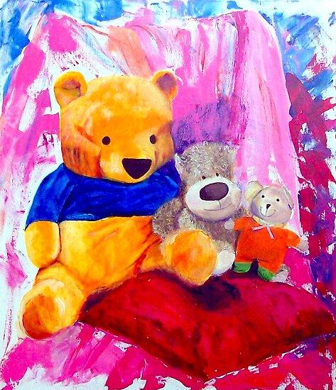Natalia and her friends  by Kasia B. Turajczyk