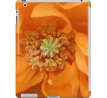 Orange Poppy iPad Case/Skin