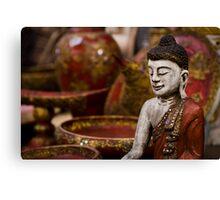 Buddha Statuette - Thailand Canvas Print