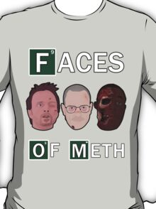 Breaking Bad - Faces Of Meth T-Shirt